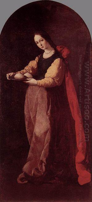 St Agatha 1633
