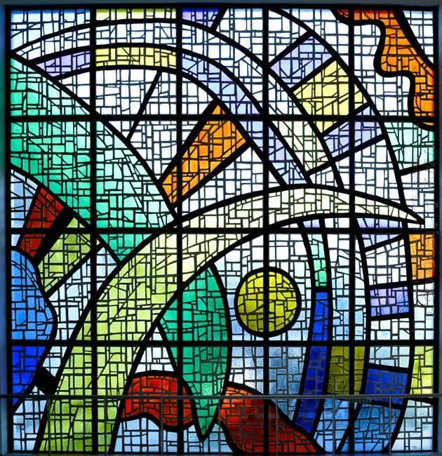 Stained Glass Windows For The University Of Caracas