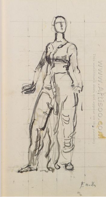 Standing Draped Figure 2