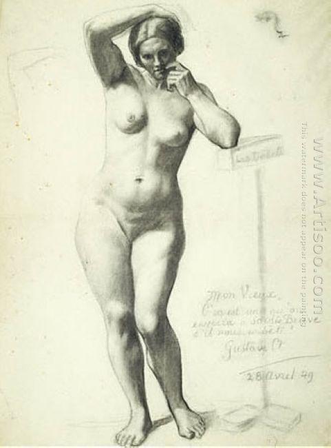 Standing Fermale Nude