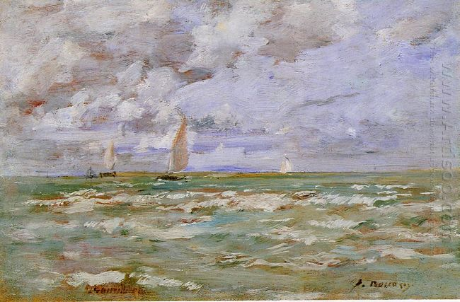 Standing Off Deauville 1886