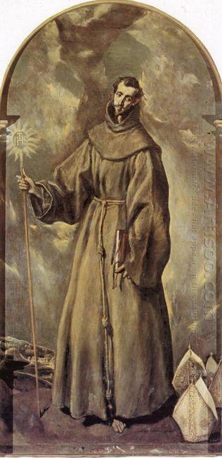 St Bernardino Of Siena 1604