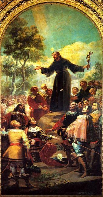St Bernardino Of Siena Preaching To Alfonso V Of Aragon 1783