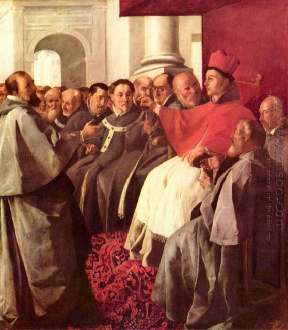 St Bonaventure At The Council Of Lyons