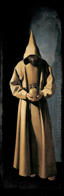 St Francis Contemplating A Skull