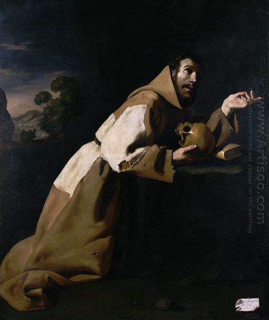 St Francis In Meditation 1639