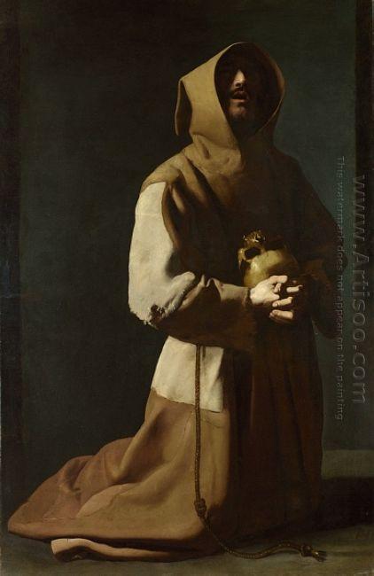 St Francis Kneeling 1639