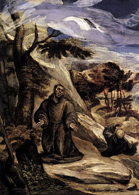 St Francis Receiving The Stigmata 2