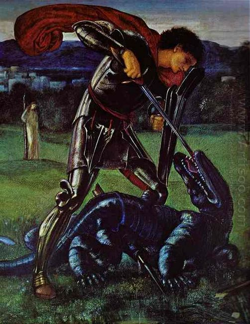St George And The Dragon 1868