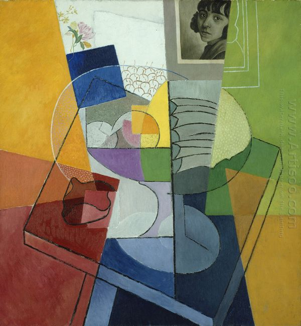 Still Life Centrifugal Expansion Of Colors 1916