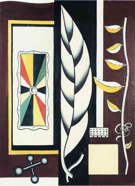 Still Life Composition Leaf 1927