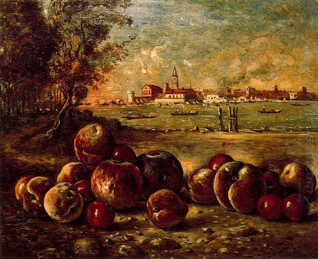 Still Life In Venetian Landscape