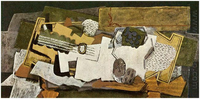 Still Life With A Guitar 1919