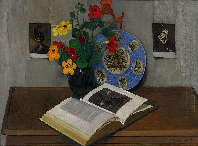 Still Life With Blue Trim 1922