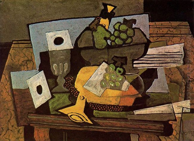 Still Life With Clarinet 1927