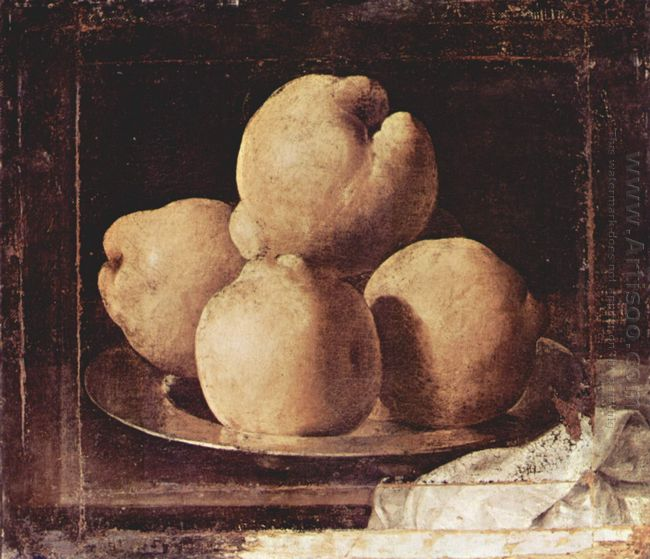 Still Life With Dish Of Quince 1664
