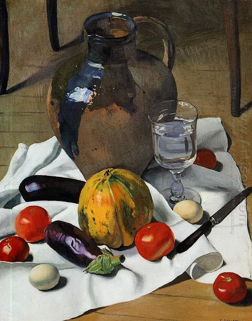 Still Life With Large Earthenware Jug 1923