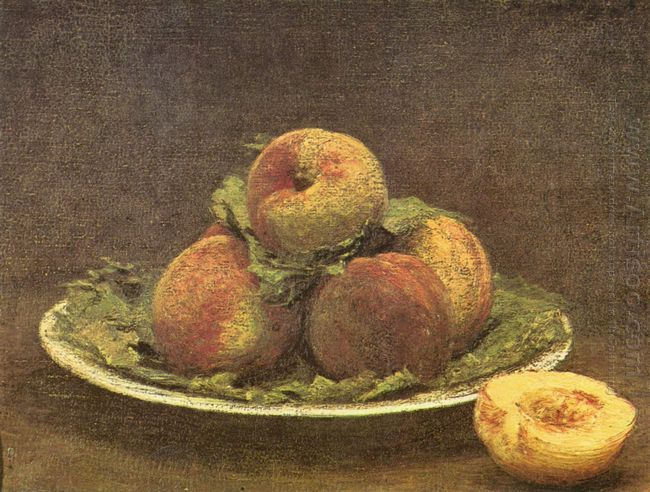 Still Life With Peaches 1880