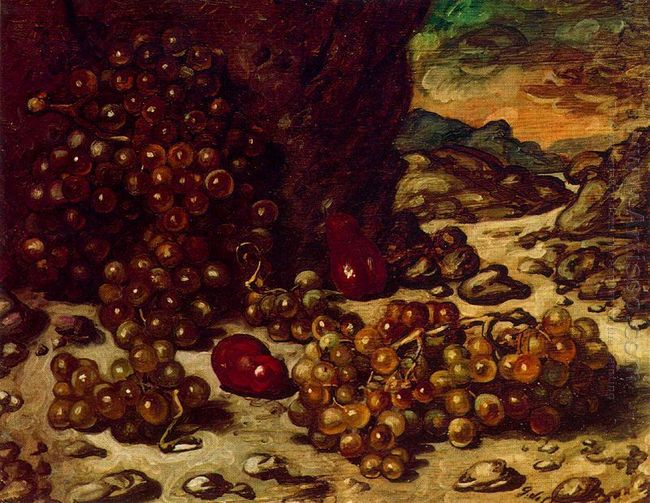 Still Life With Rocky Landscape 1942