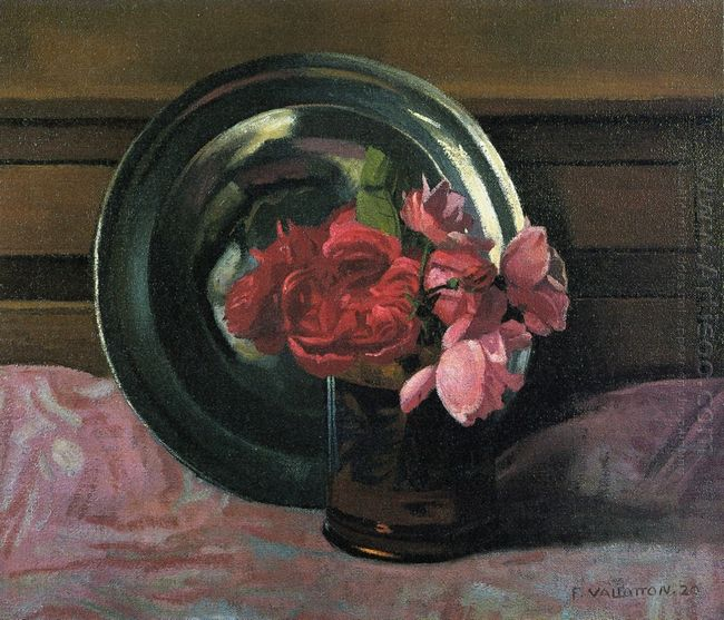 Still Life With Roses 1920