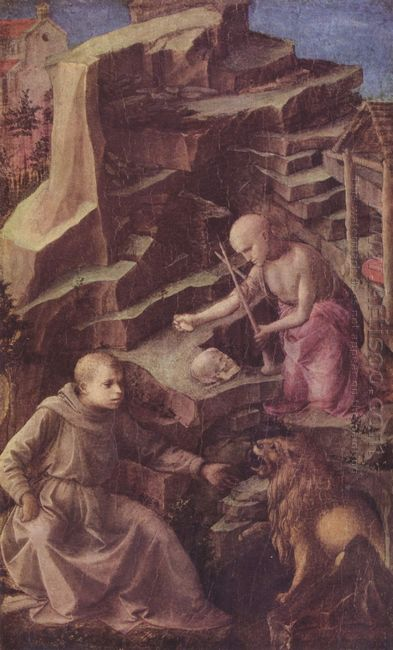 St Jerome In The Desert 1456