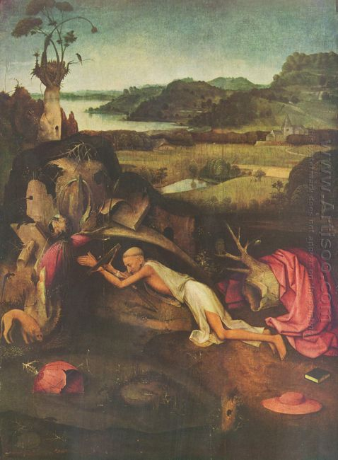 St Jerome Praying 1500