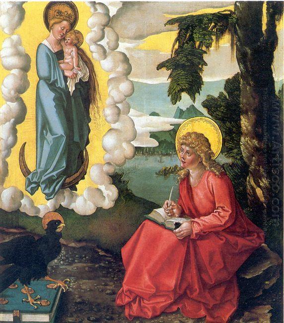 St John At Patmos 1515