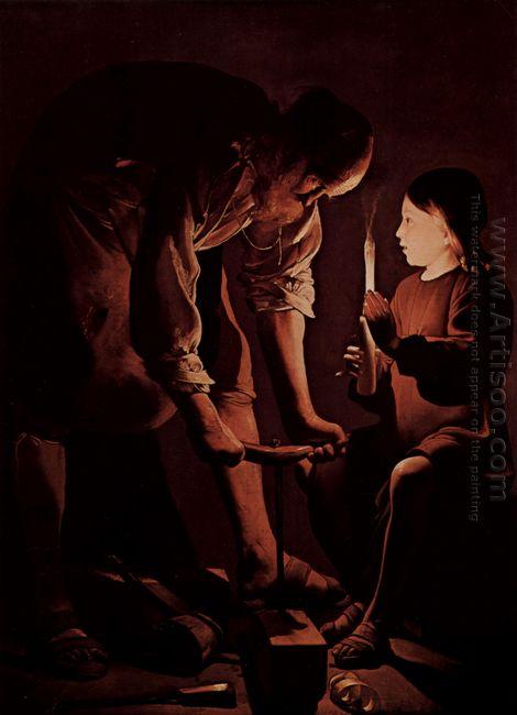 St Joseph The Carpenter 1640