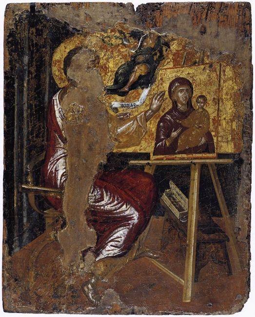St Luke Painting The Virgin 1568