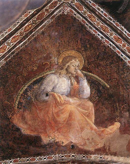 St Luke The Evangelist 1454