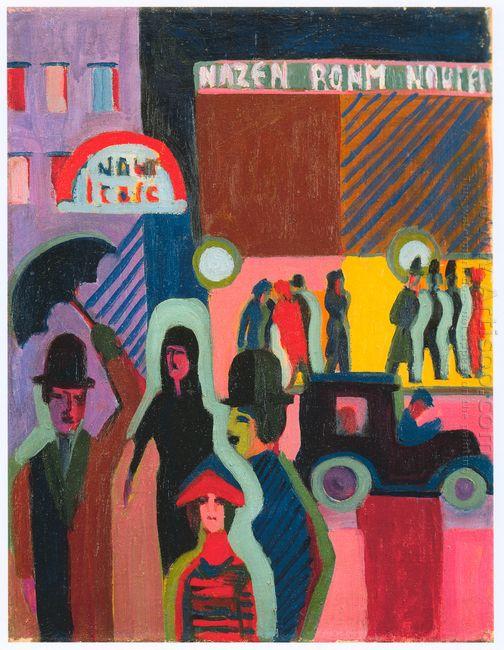 Store In The Rain 1927
