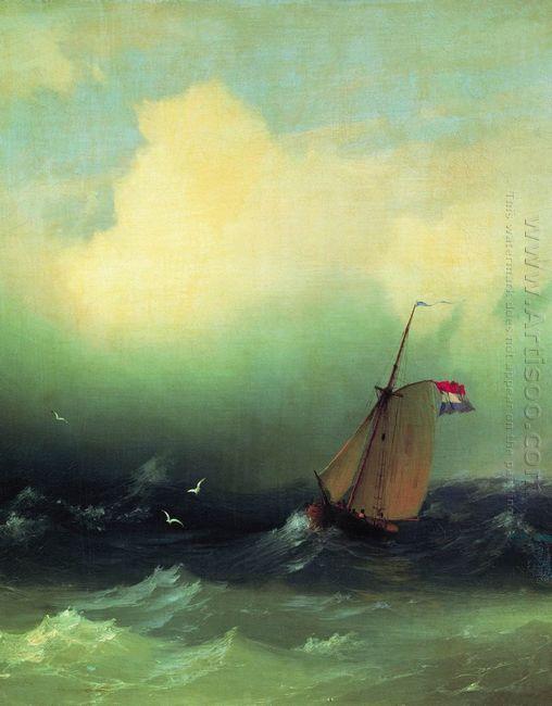 Storm At Sea 1847