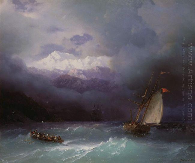 Stormy Sea 1868