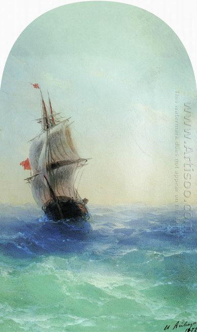 Stormy Sea 1872