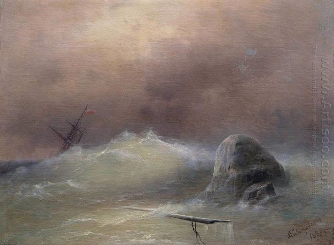 Stormy Sea 1887