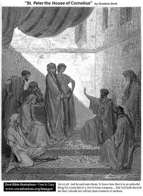 St Peterinthehouseofcornelius