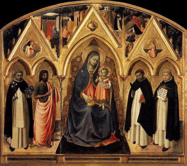 St Peter Martyr Altarpiece 1428