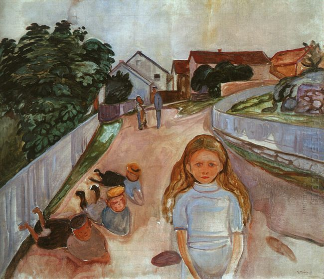 Street In Asgardstrand 1902