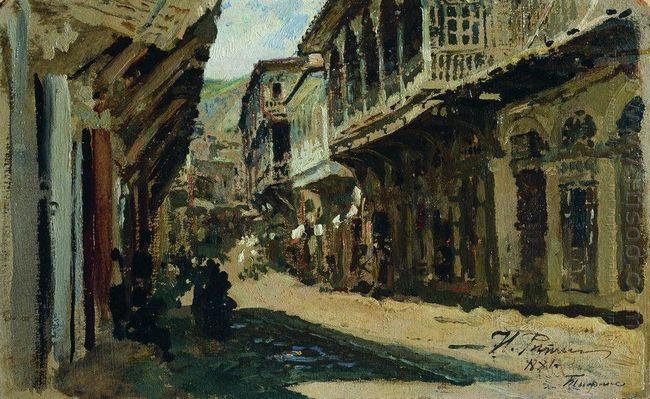 Street In Tiflis 1881