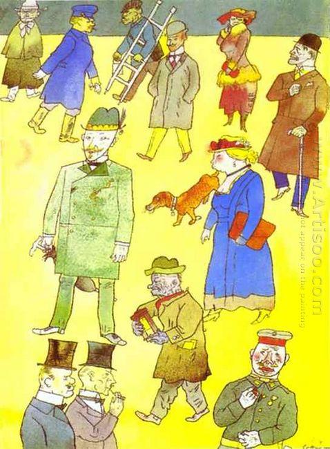 Street Scene 1919