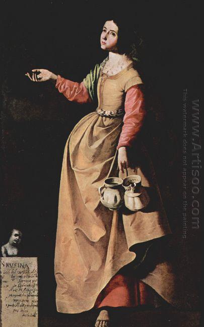 St Rufina Of Seville 1640