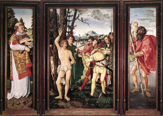 St Sebastian Altarpiece 1507