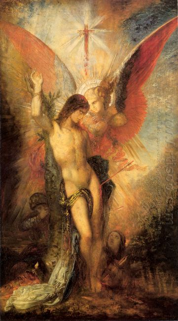 St Sebastian And The Angel 1876