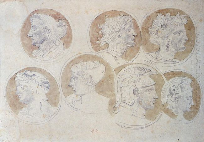 Studies Of Antique Medallions