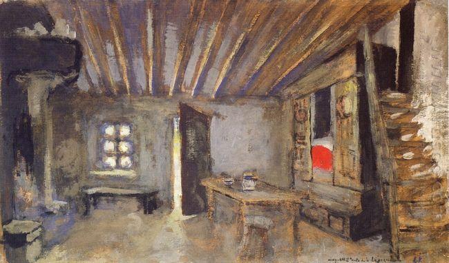 Studio Interior Model For The Scenery Of La Lepreuse