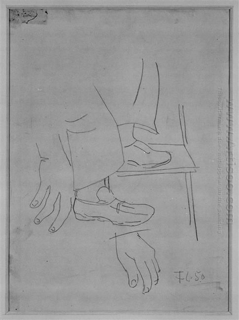Study For Builders Of Feet 1950