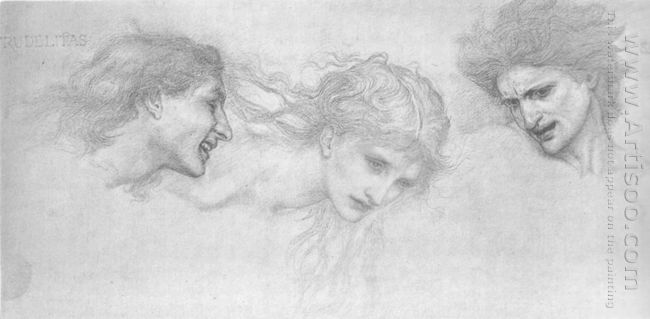 Study For Masque Of Cupid