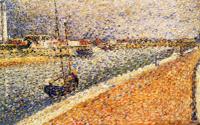 Study For The Channel At Gravelines 1890