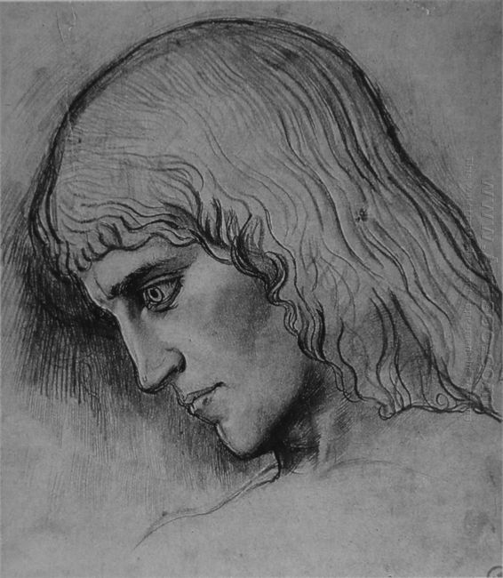 Study For The Head Of Oedipus
