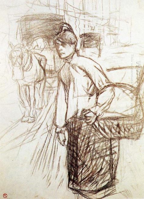 Study For The Laundress 1888